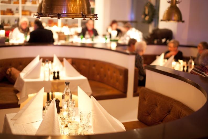 Vacker restaurang