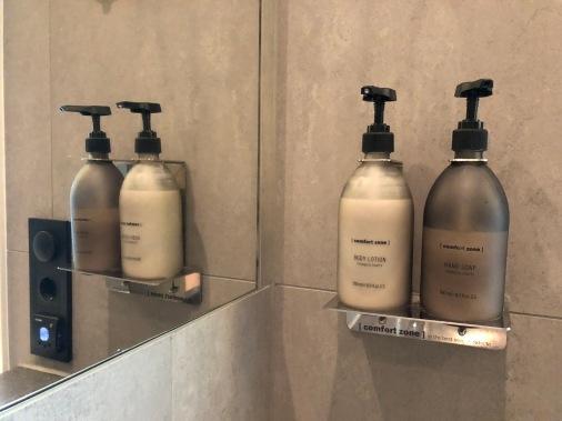 Väldoftande produkter i badrummet