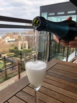 Bubbel på balkongen