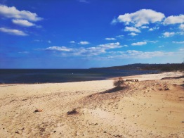 Stranden i Vitemölla